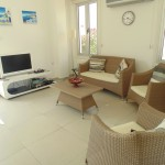 holiday house for rent near Ehotel of pervolia sitting room