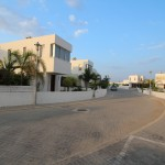 private road for villa for rent in Pervolia village Two bedroom fully furnished