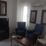 rent a villa for four people at Pervolia near e-hotel sitting room