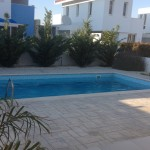 two bedroom holiday house in pervolia pool view
