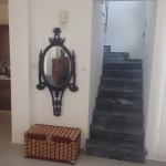 villa for rent at colonian beach villas of pervolia village kitchen