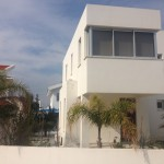 villa rental in pervolia village of Larnaca front view