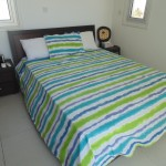 villa with pool for rent daily at Pervolia village double bedroom 1