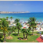 Ayia Napa famous holiday resort in Cyprus